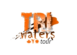 Tri waters logo no kayak